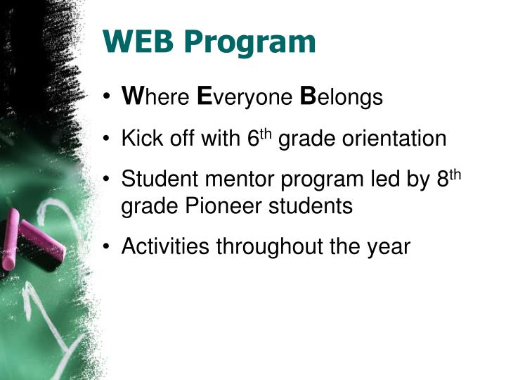 WEB Program
