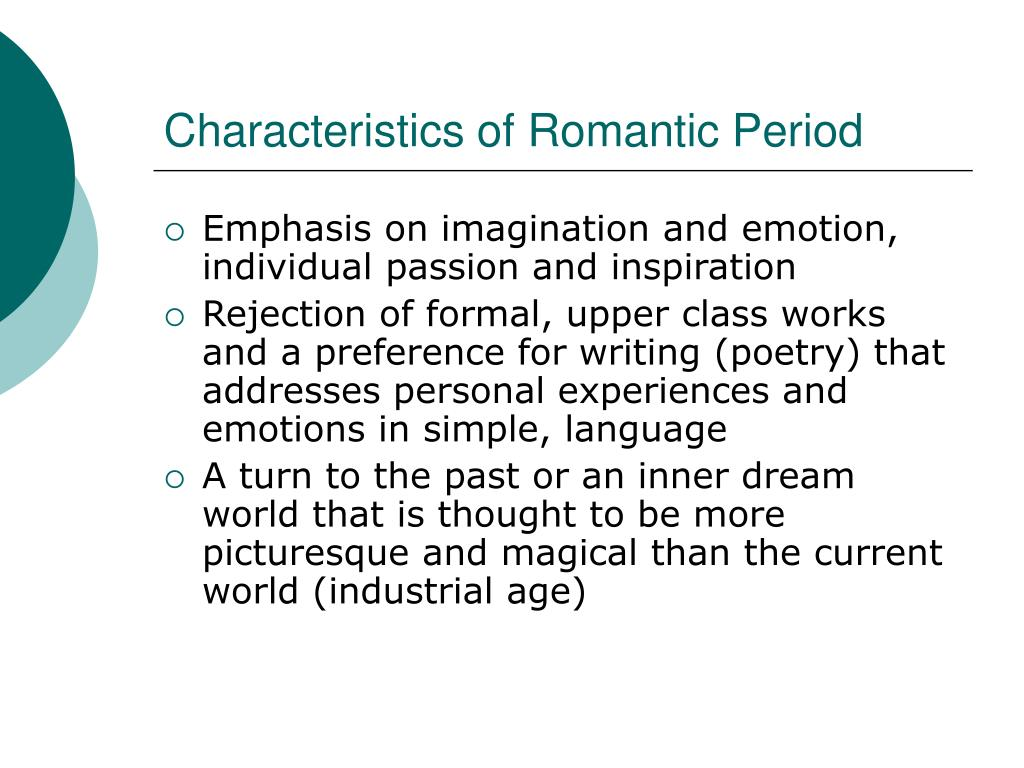 characteristics of romanticism in frankenstein What characteristics of romanticism do we see in the novel and where.