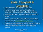 keefe campbell associates