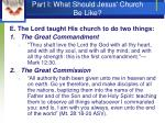 part i what should jesus church be like14