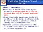 part i what should jesus church be like4