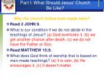 part i what should jesus church be like5