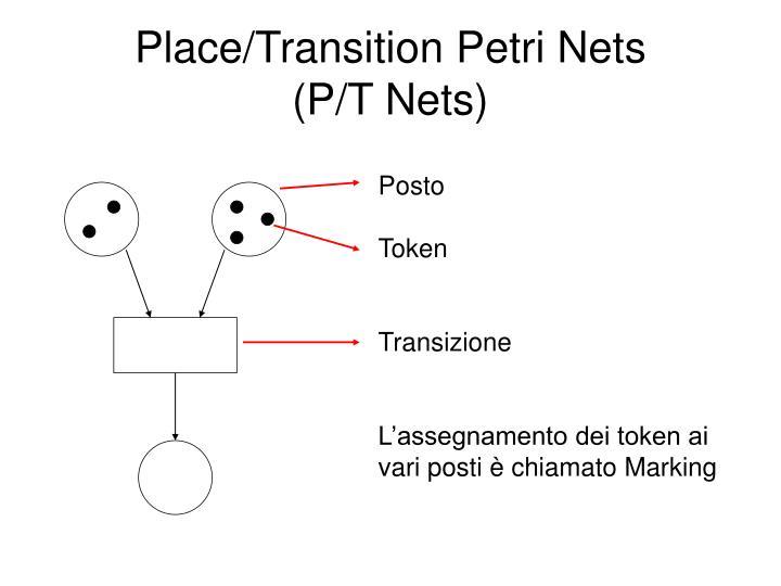 Place transition petri nets p t nets