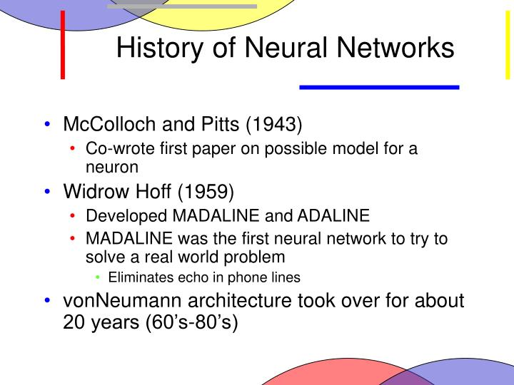 History of Neural Networks