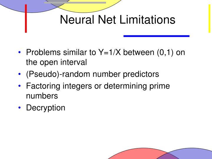 Neural Net Limitations