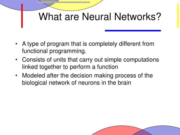 What are neural networks