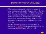 impact of vat on builders29