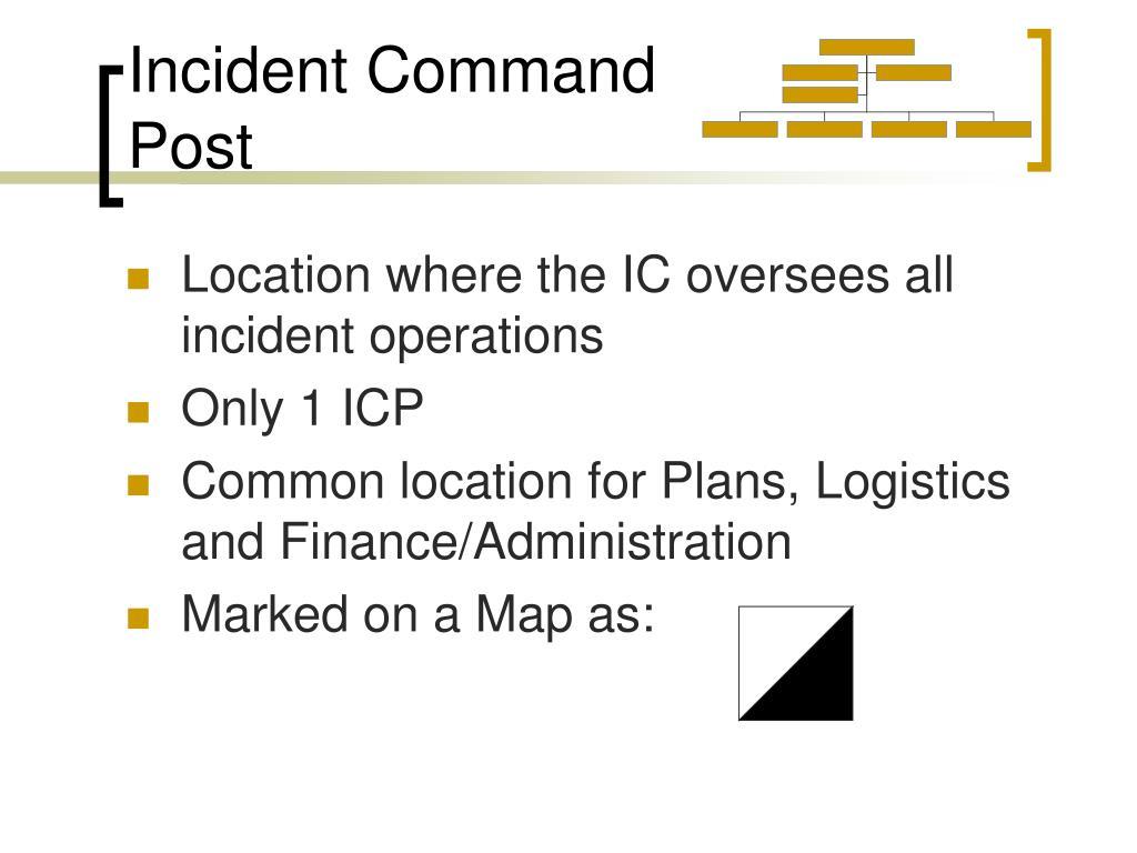 Incident Command Post