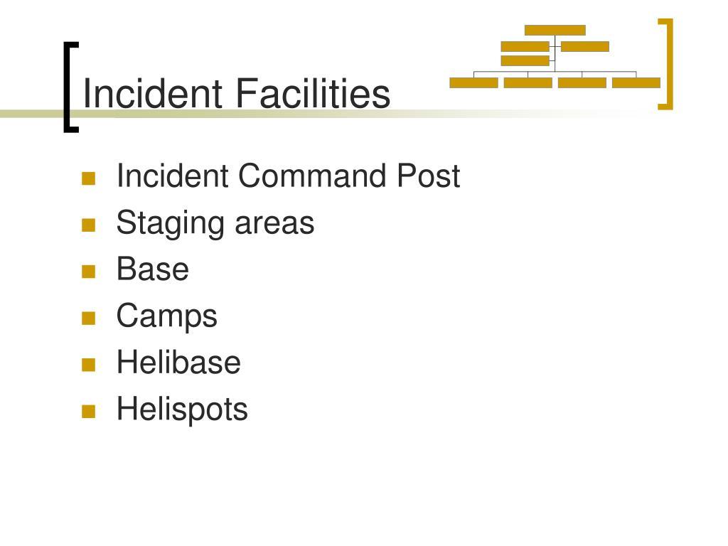 Incident Facilities