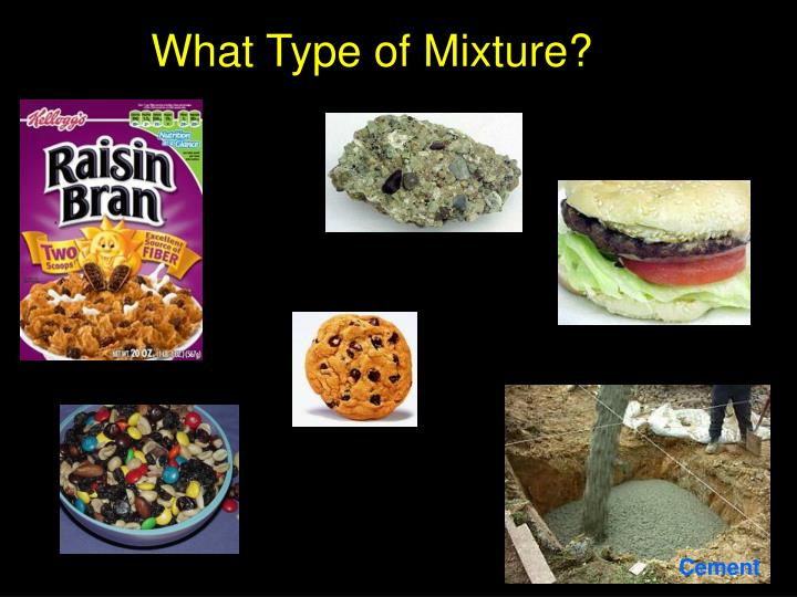 What type of mixture