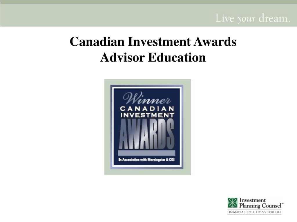 Canadian Investment Awards