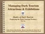 managing dark tourism attractions exhibitions