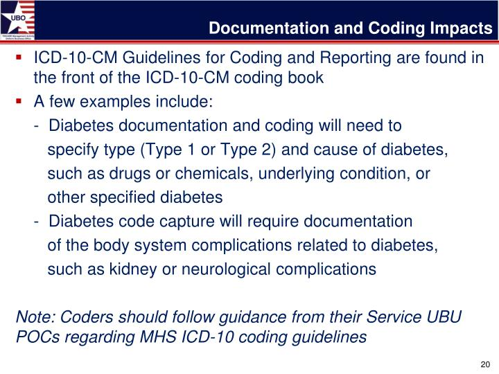 Documentation and Coding Impacts