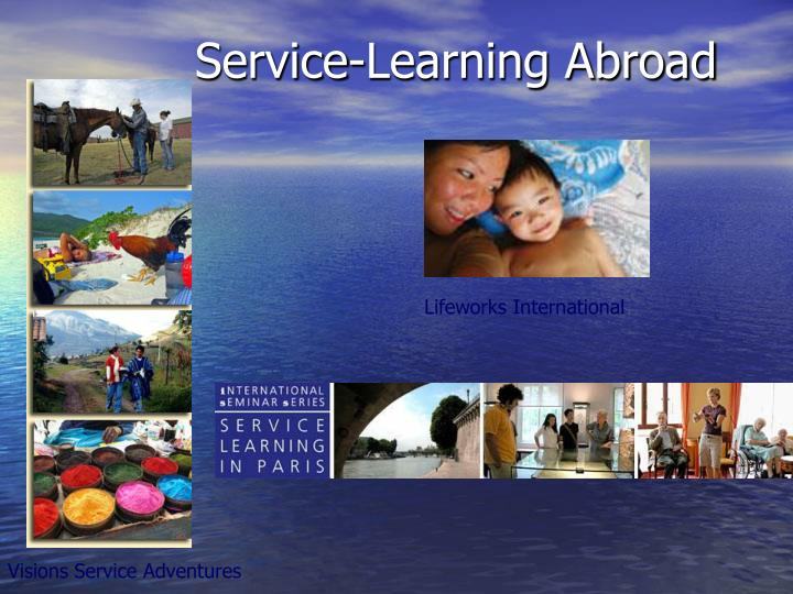 Service-Learning Abroad