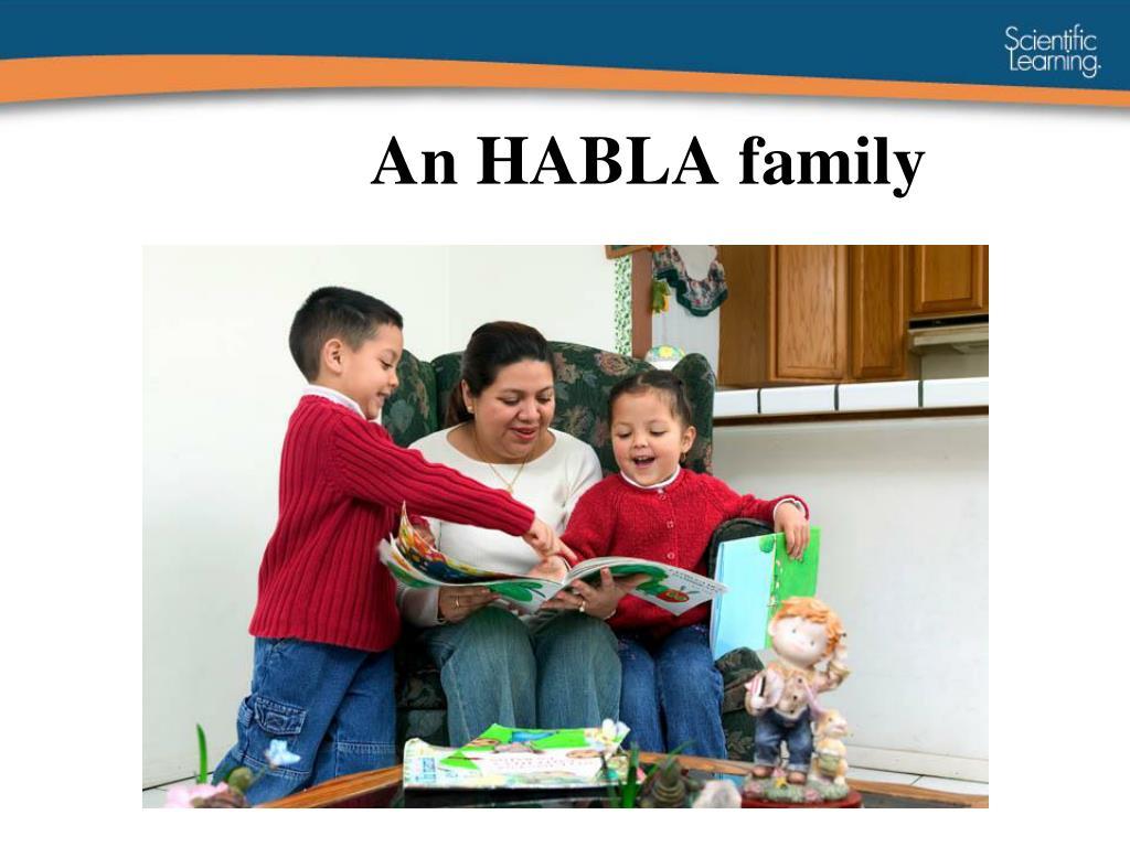 An HABLA family
