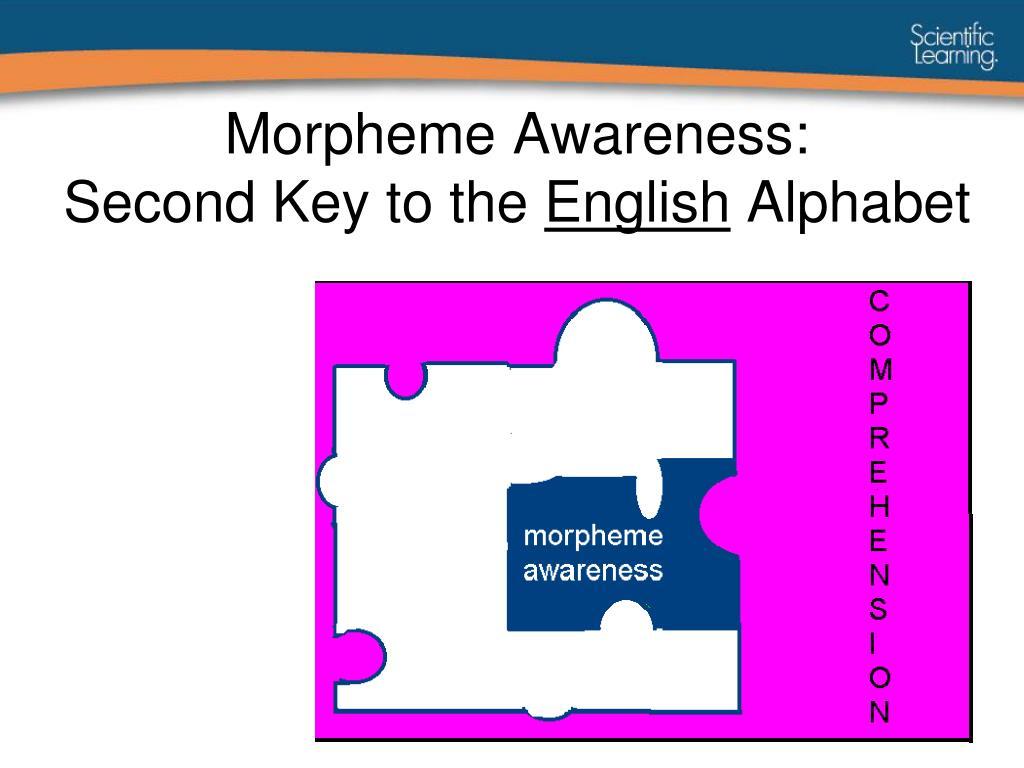 Morpheme Awareness: