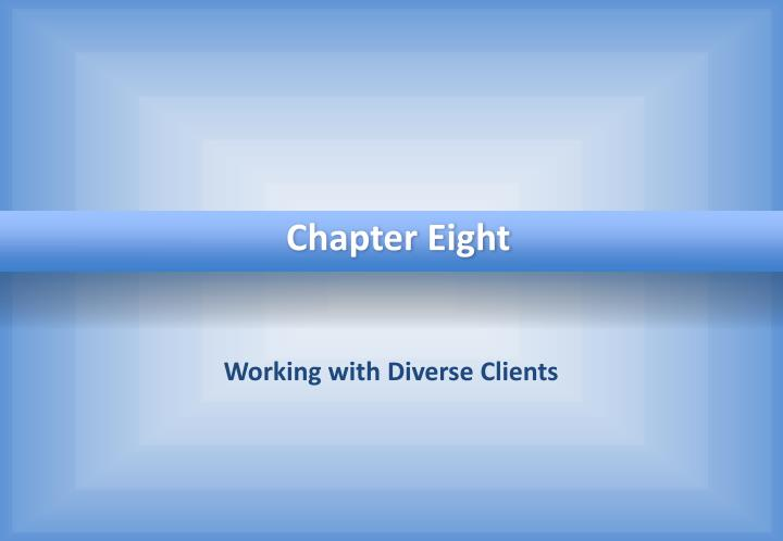 working with diverse clients n.