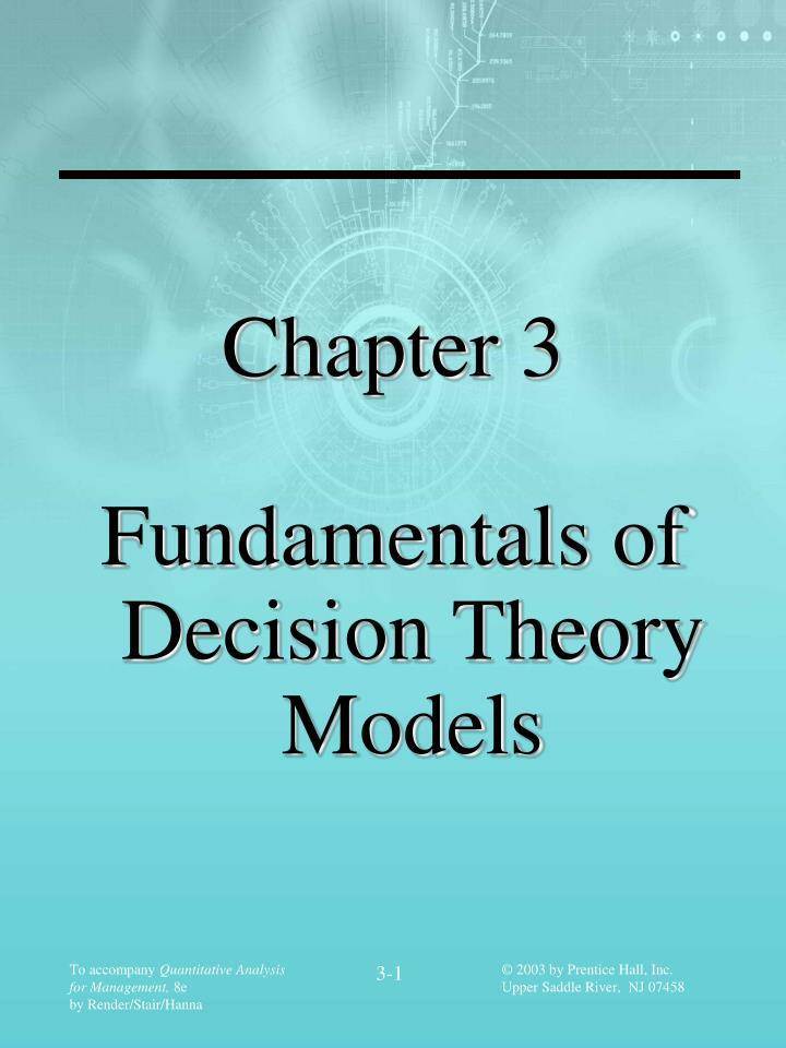 theory of finance chapters 1 3 Chapter 1: finance theory advertisement chapter 3 survey: a prospect theory survey from experience we have found that prospect theory is best motivated if students first answer (some or all of) the lottery choices presented in class.