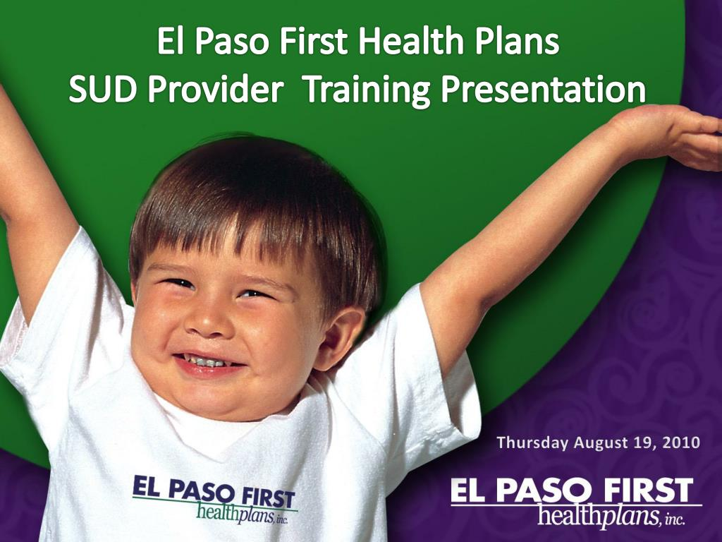 El Paso First Health Plans