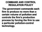 command and control regulation policy