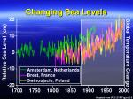 changing sea levels77