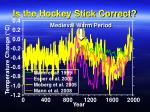 is the hockey stick correct43
