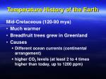 temperature history of the earth36