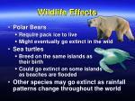 wildlife effects
