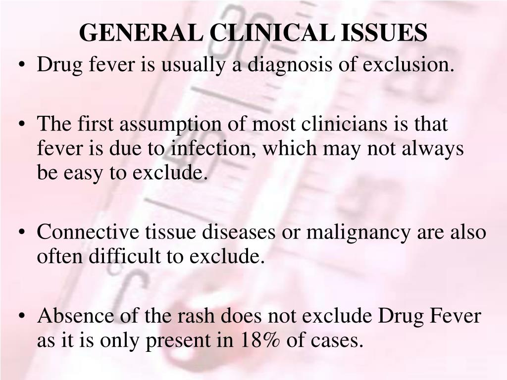 GENERAL CLINICAL ISSUES