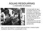 guas residu rias 1 criat rio de animais