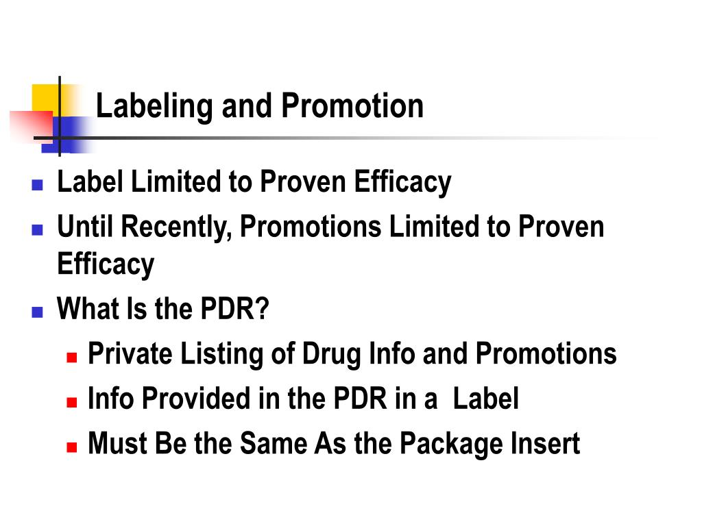 Labeling and Promotion