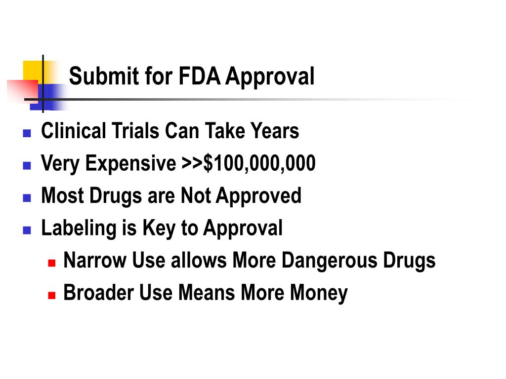 Submit for FDA Approval