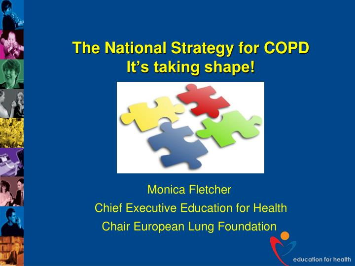 the national strategy for copd it s taking shape n.