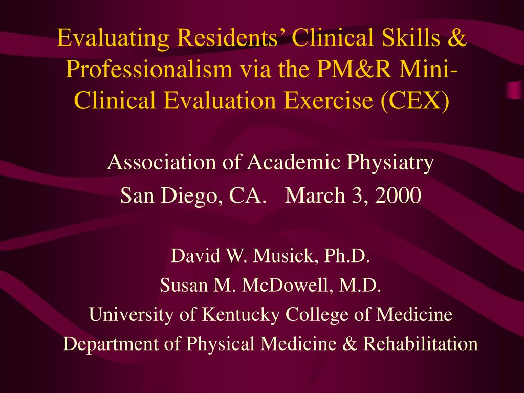Association of Academic Physiatry