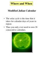 modified julian calendar2
