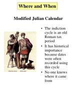 modified julian calendar4