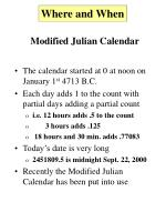 modified julian calendar6
