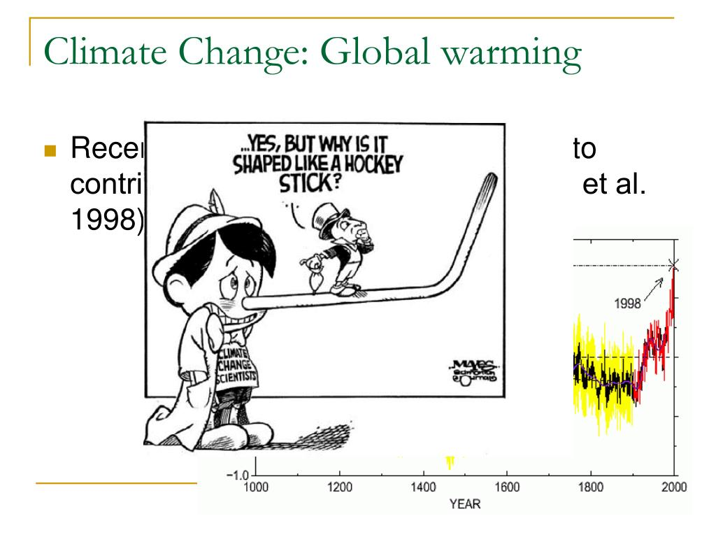 Climate Change: Global warming