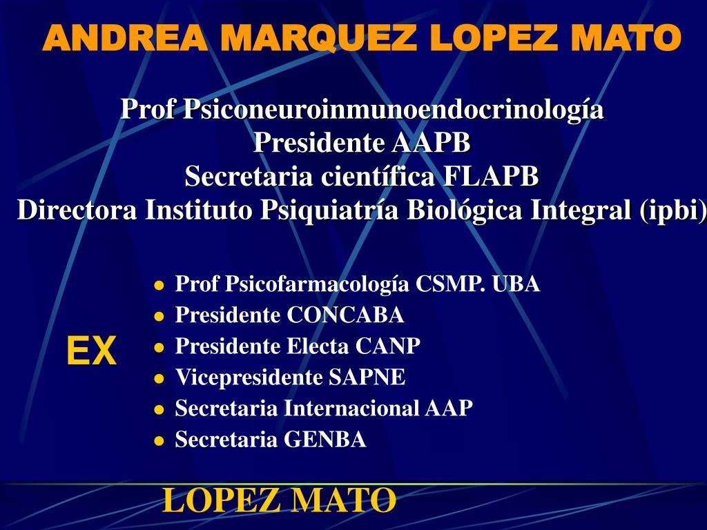 ANDREA MARQUEZ LOPEZ MATO