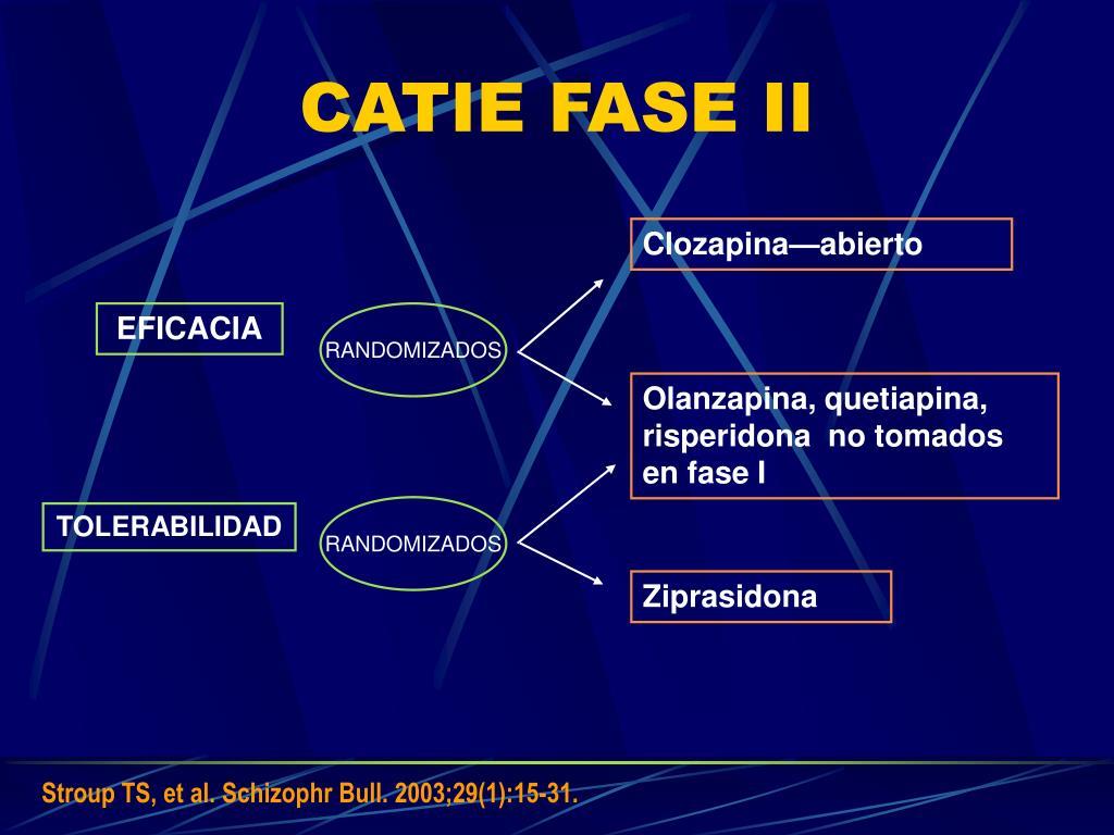 CATIE FASE II
