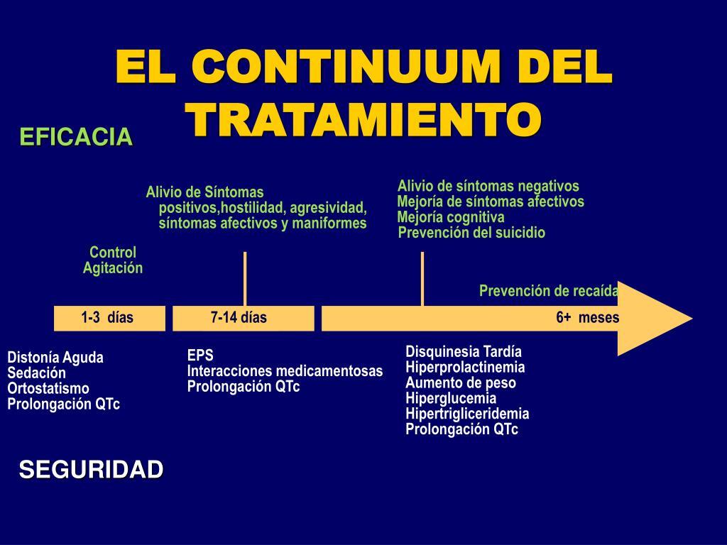 EL CONTINUUM DEL TRATAMIENTO