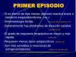 primer episodio