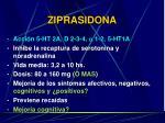 ziprasidona
