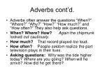 adverbs cont d