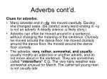 adverbs cont d22