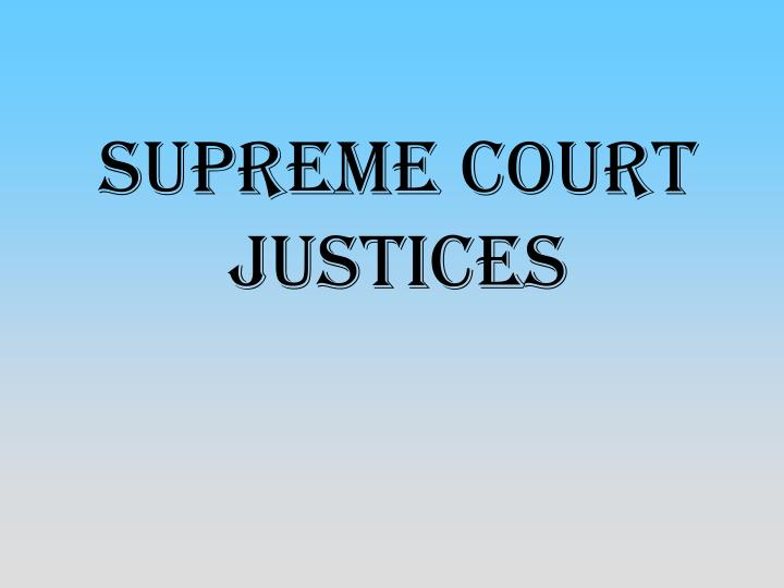 supreme court justices n.