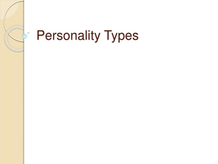 personality types n.