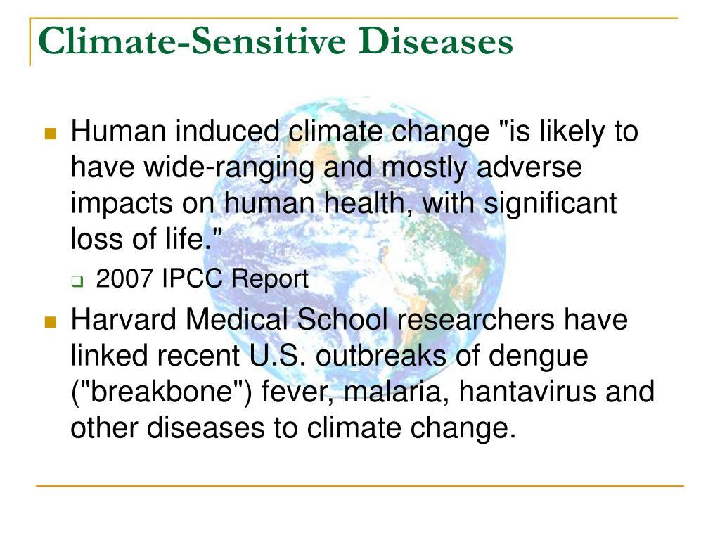 Climate-Sensitive Diseases