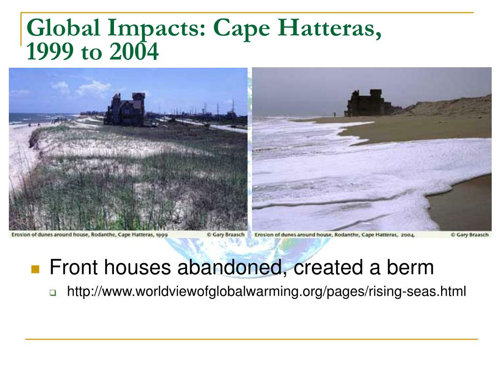 Global Impacts: Cape Hatteras,