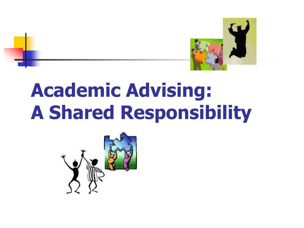 Academic Advising: